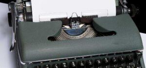 typewriter for homepage for mindshift.gr